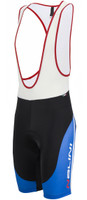Nalini Sinello Black Blue Bib Shorts