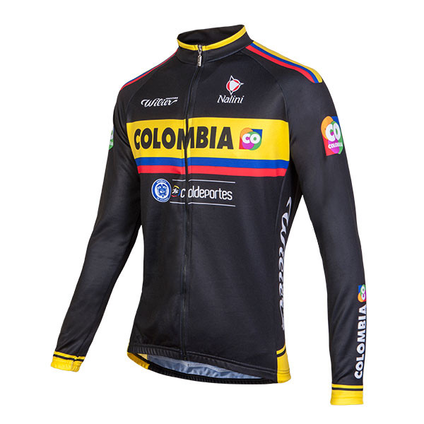 2015 Colombia Long Sleeve Jersey Front