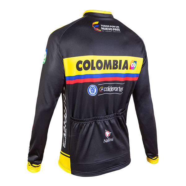 2015 Colombia Long Sleeve Jersey Rear