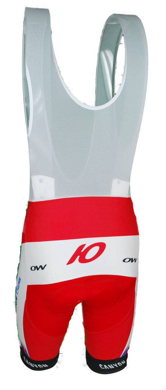 2015 Katusha Bib Shorts Rear