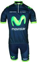 2015 Movistar America HZ Jersey Front