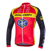 2015 Raleigh Long Sleeve Jersey Front