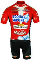 Acqua Sapone Red Classic FZ Jersey Front