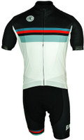 BlueLine Staynor White Classic FZ Jersey Front