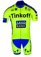 2015 Tinkoff Saxo FZ Jersey Front