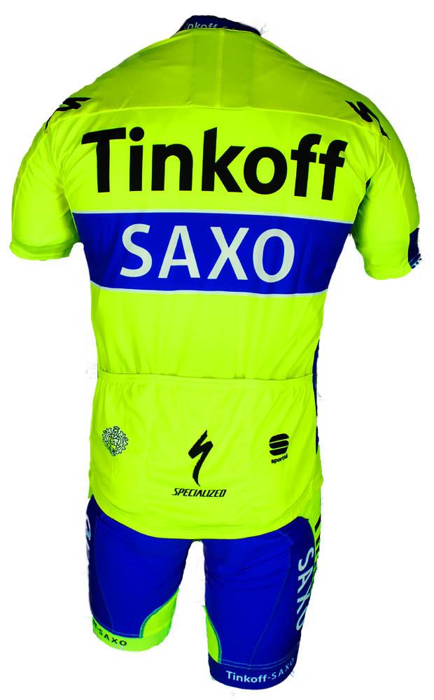 2015 Tinkoff Saxo FZ Jersey Rear