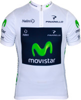 Movistar Quintana Tour White Best Young Rider Jersey