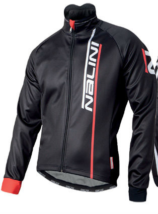 Nalini Xwarm  Thermo Wind Resistant  Black Red Jacket