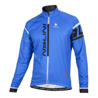 Nalini Logo Ti Blue Long Sleeve Jersey Front