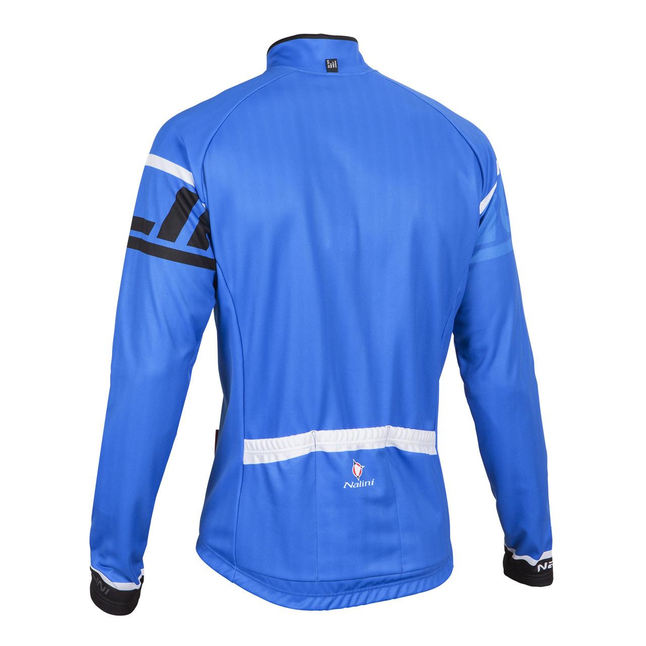 Nalini Logo Ti Blue Long Sleeve Jersey Back