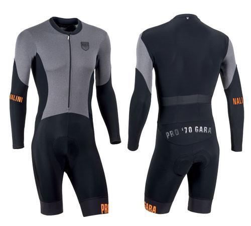 Nalini Blu Longsleeve Thermal Skin Suit