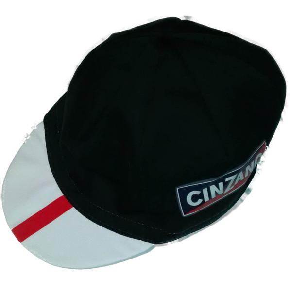 Cinzano Retro Black Cyling Cap