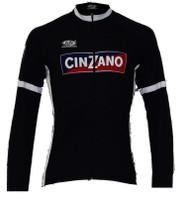 Cinzano Black Long Sleeve Jersey Front