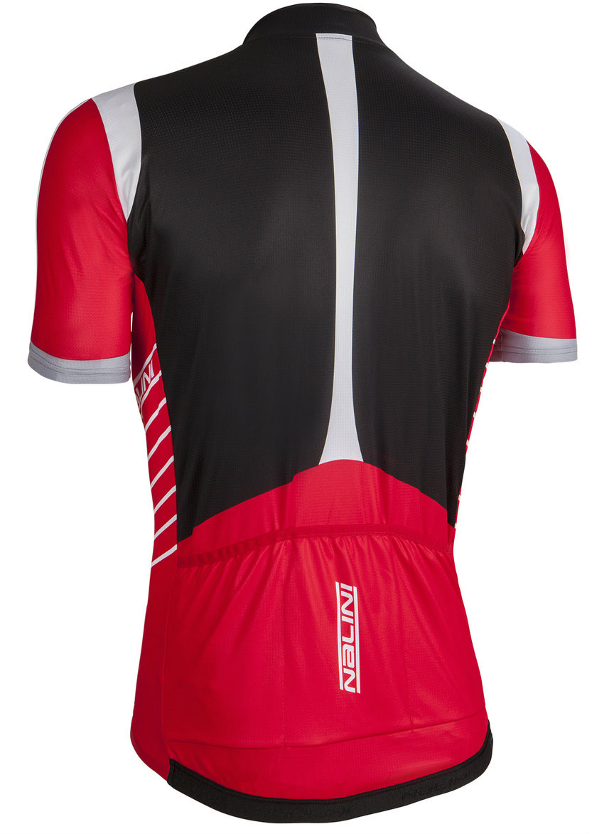 ... Nalini Red TI Red Jersey Rear 192c05522