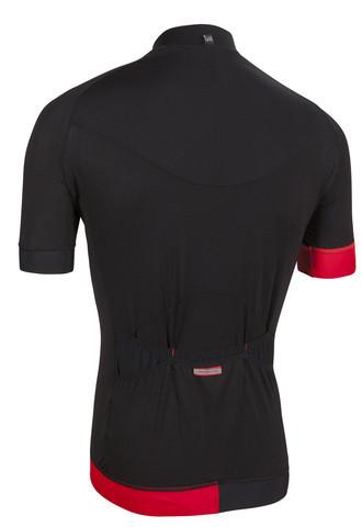 Nalini Curva TI Black Jersey Rear