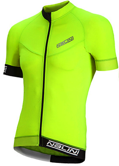 Nalini Curva TI Fluorescent Jersey Front