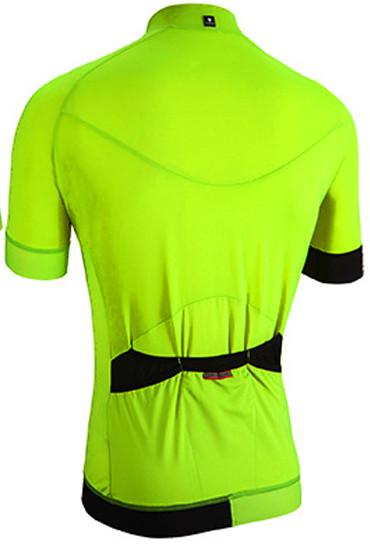 Nalini Curva TI Fluorescent Jersey  Rear