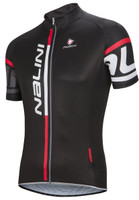 Nalini Logo Summer TI Black Red Jersey