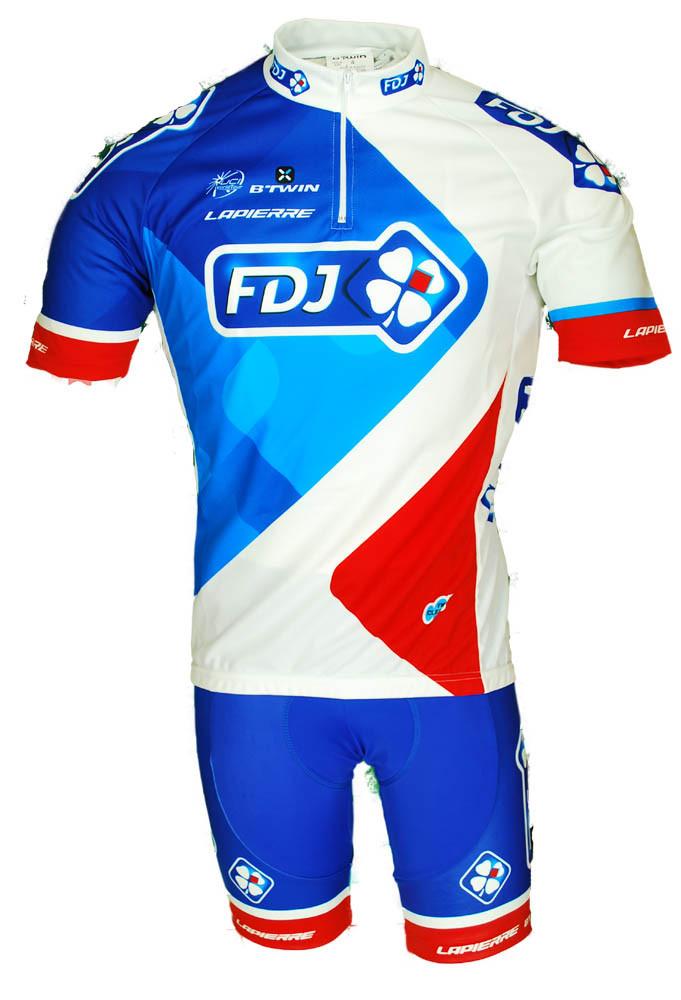 2015 FDJ HZ Jersey Front