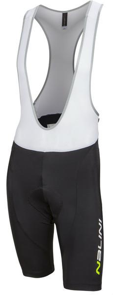 Nalini Candelaro Black Fluorescent Bib Shorts Front