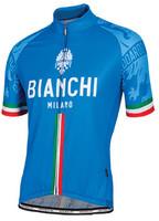 Bianchi Milano Sado Italia Blue Jersey Front
