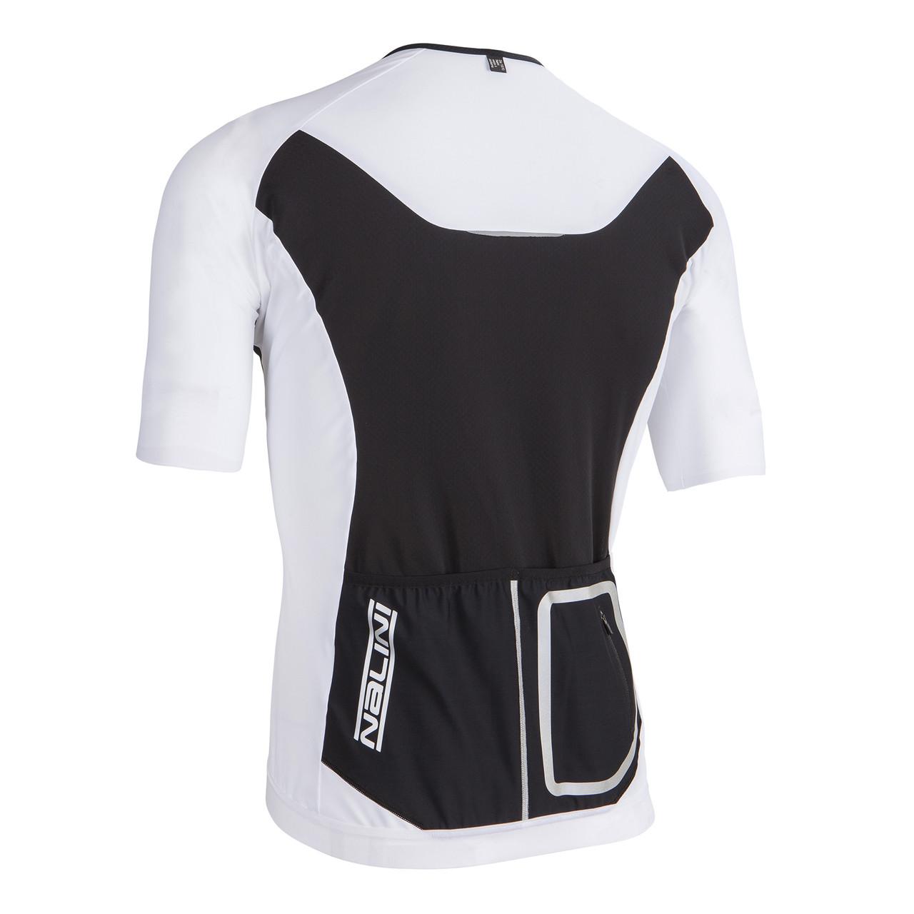 Nalini Xrace Logo Ti White Jersey Rear