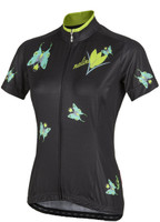 Nalini Women's Butterfly Ti Black Jersey