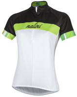 Nalini Luna Optical White Green Jersey
