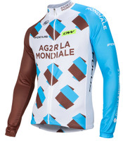 2016 AG2R La Mondiale Long Sleeve Jersey