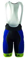 ALE Bermuda Blue Fluorescent Bib Shorts
