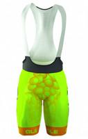 ALE Bubbles Yellow Bib Shorts