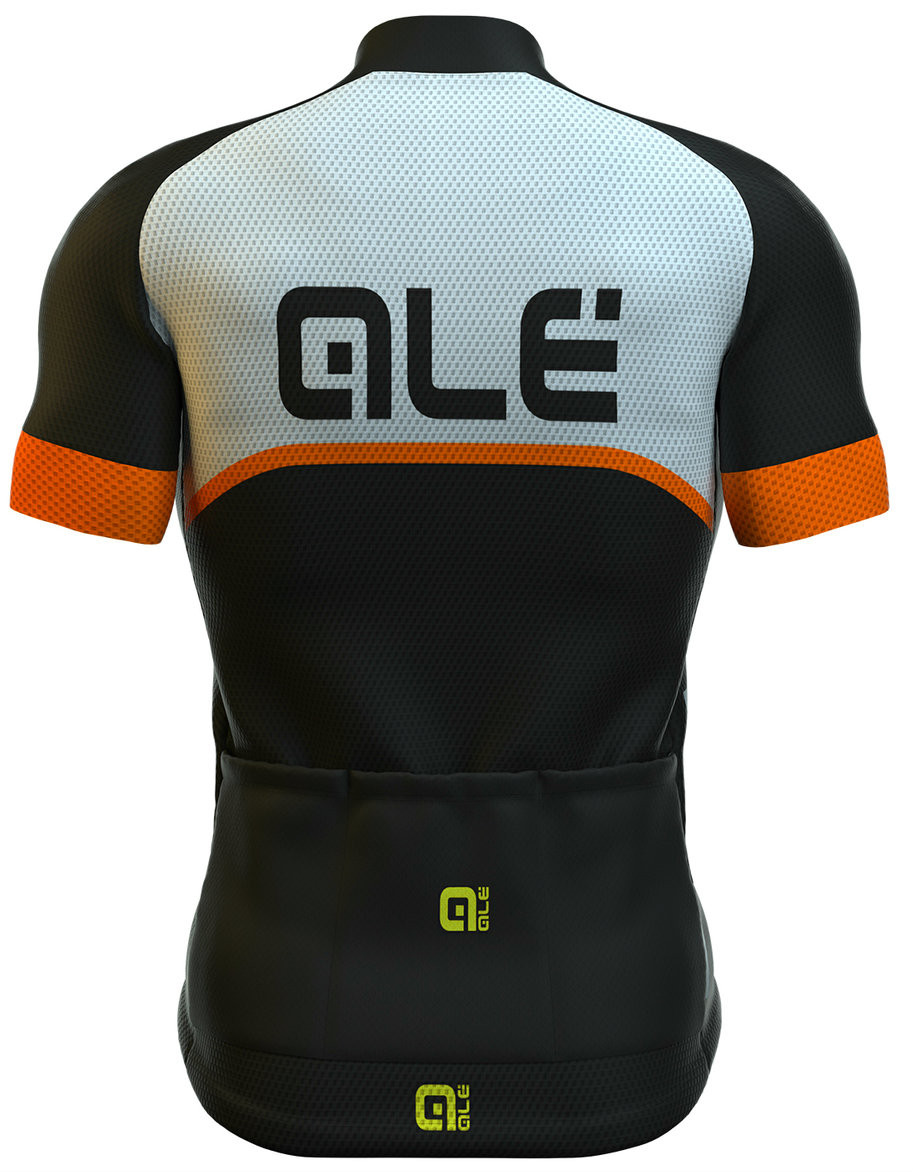 ALE Excel Veloce Orange Jersey Rear