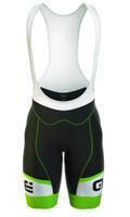 ALE Formula One Logo Green Fluo Bib Shorts