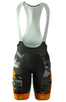 ALE PRR CAMO Orange Bib Shorts