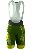 ALE PRR CAMO Yellow Fluo Bib Shorts