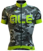 ALE PRR CAMO Green Fluo Jersey
