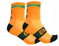 ALE Reflex Reflective 10 CM Orange Fluo Socks