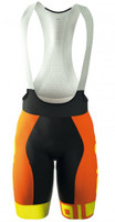 ALE PRR Arcobaleno Orange Fluo Bib Shorts