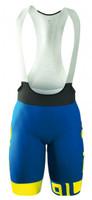 ALE PRR Arcobaleno Blue Bib Shorts