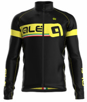 ALE Ultra Adriatico Yellow Long Sleeve Jersey