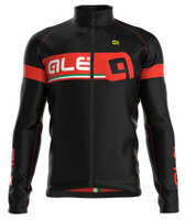 ALE Ultra Adriatico Red Long Sleeve Jersey