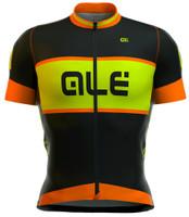 ALE Masters Graphics R EV1 Black Orange Fluo Jersey
