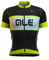 ALE Masters Graphics R EV1 Black Yellow Fluo Jersey