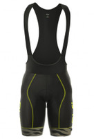 ALE Zebra Flowers PRR Yellow Fluo Bib Shorts