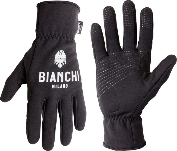 Bianchi Milano Osio Winter Black Gloves