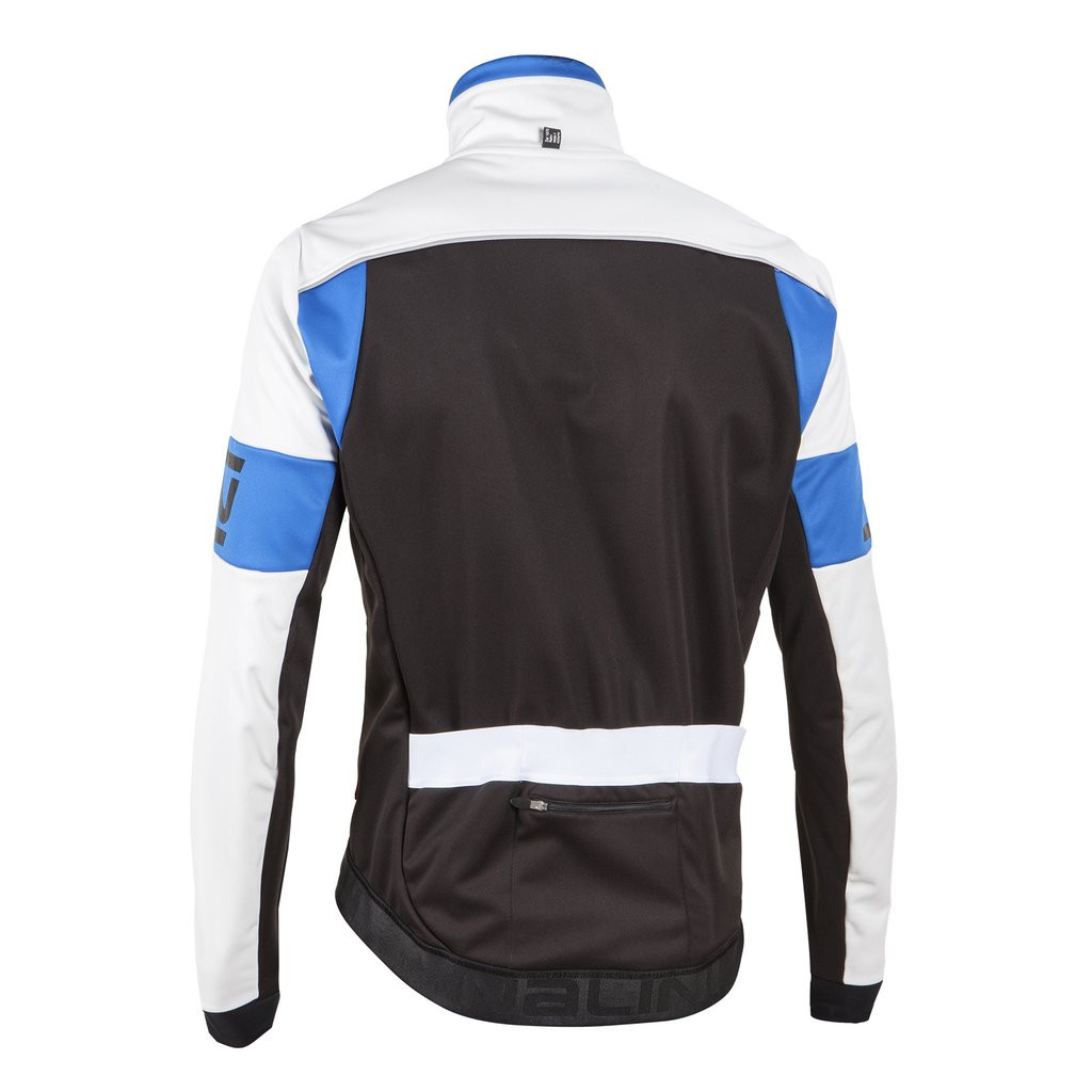 Nalini Classica Thermal Blue Black Jacket Rear