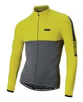 Nalini Mantova Warm Yellow Long Sleeve Jersey