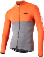 Nalini Mantova Warm Orange Long Sleeve Jersey