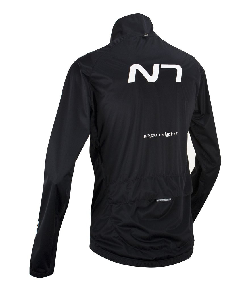 Nalini Aeprolight Aero Wind Rain Jacket Black Jersey | italian ...