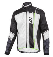 Nalini Ruota Xwarm Thermal Jacket White Black Jersey